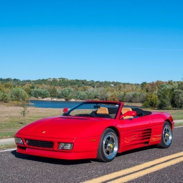 1990 Ferrari 348 Ts Cabriolet