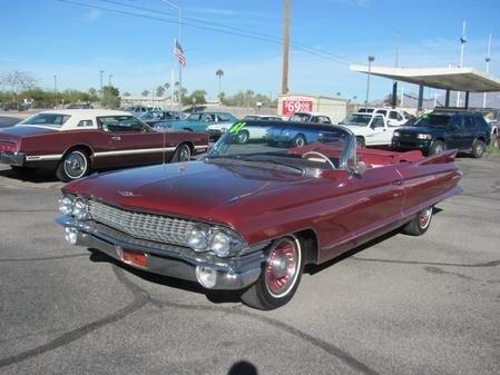 609093198b9c4 hd 1961 cadillac series 62 convertible