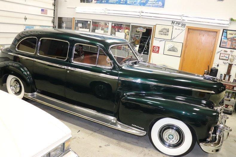 1946 Cadillac Fleetwood 4 Door Limousine 7 P