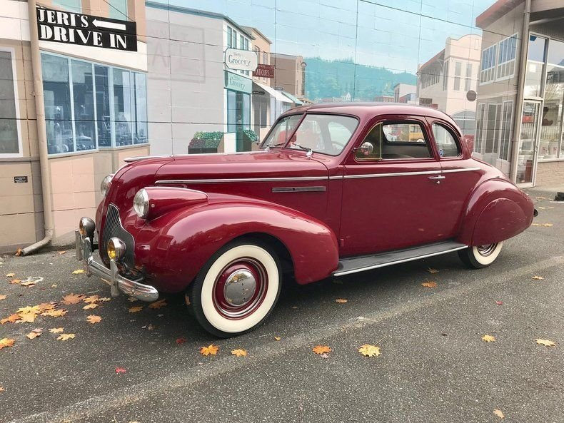 1939 Buick 46 S Sports Coupe
