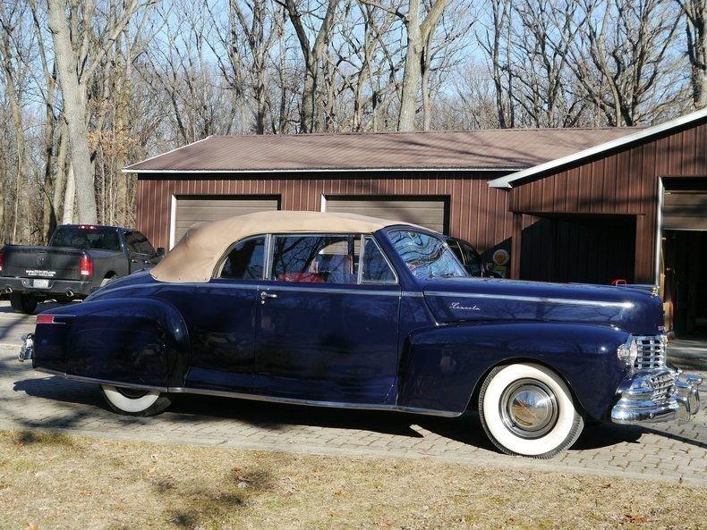 1948 Lincoln Zephyr Convertible