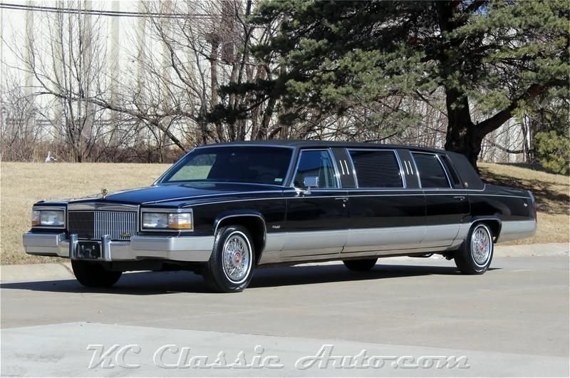 6778514e8b5a8 hd 1990 cadillac limo low miles