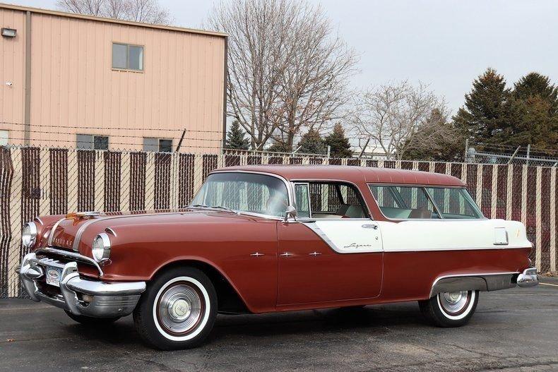 1955 Pontiac Star Chief Custom Safari Stati