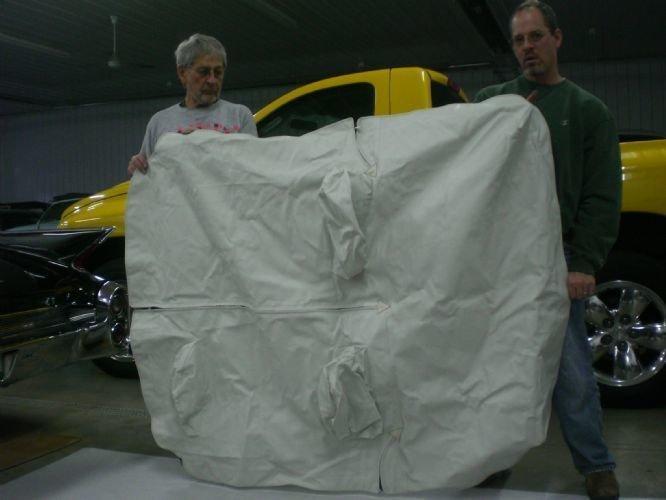 Volkswagon Karman Ghia Tonneau Cover