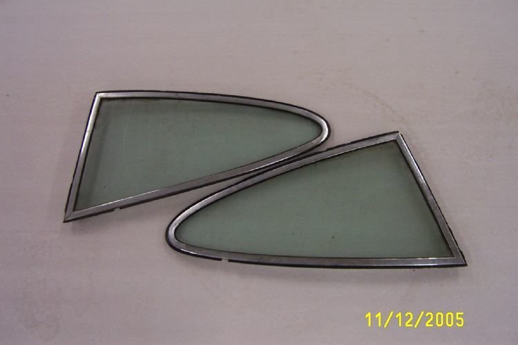 Porsche Rear Windows