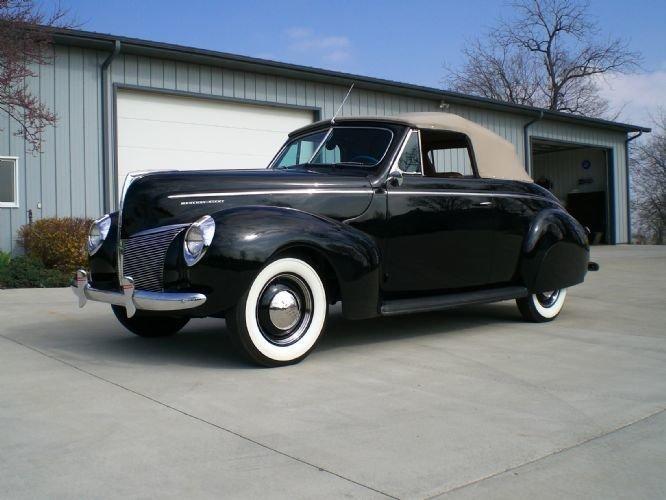 1940 Mercury Convertible
