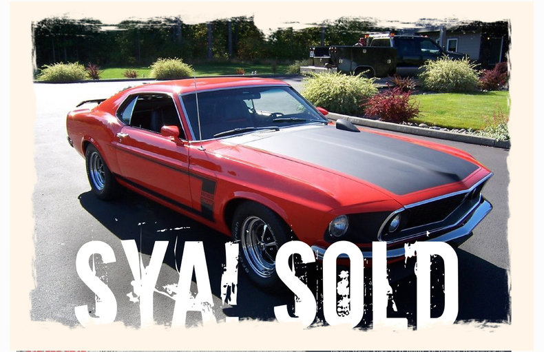 1969 1969 Ford Mustang Boss 302 For Sale