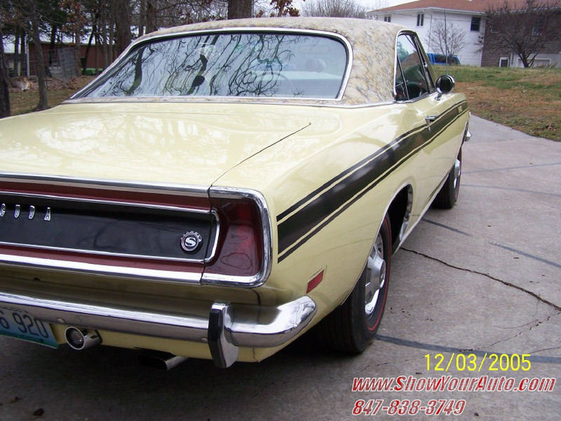 1969 1969 Plymouth Barracuda Formula S For Sale