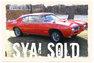 1969 Pontiac GTO Judge RAM AIR III