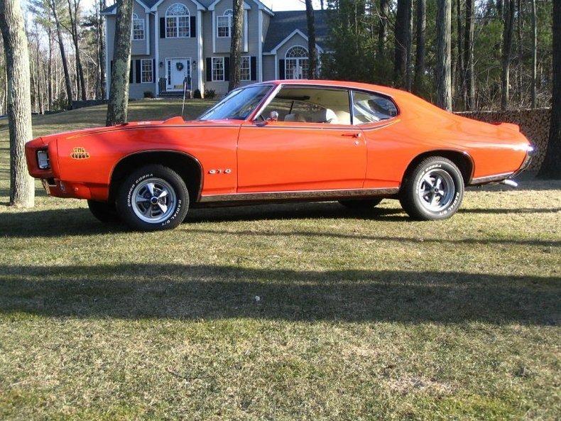 1969 1969 Pontiac GTO Judge RAM AIR III For Sale