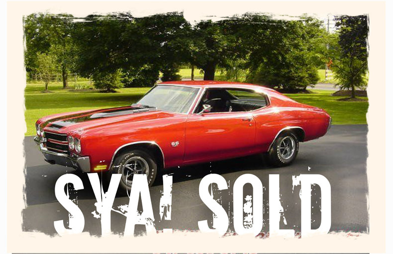 1970 1970 Chevrolet Chevelle LS6 For Sale