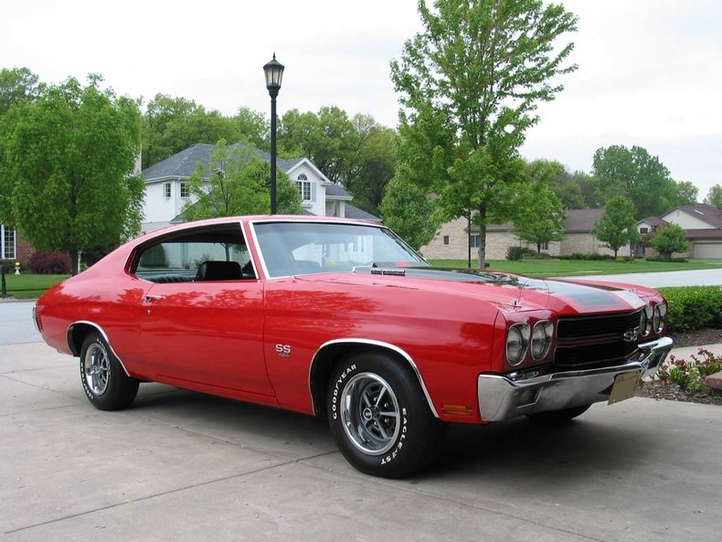 1970 1970 Chevrolet Chevelle SS 454 LS5 360hp! For Sale