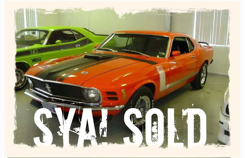1970 1970 Ford Mustang Boss 302 For Sale