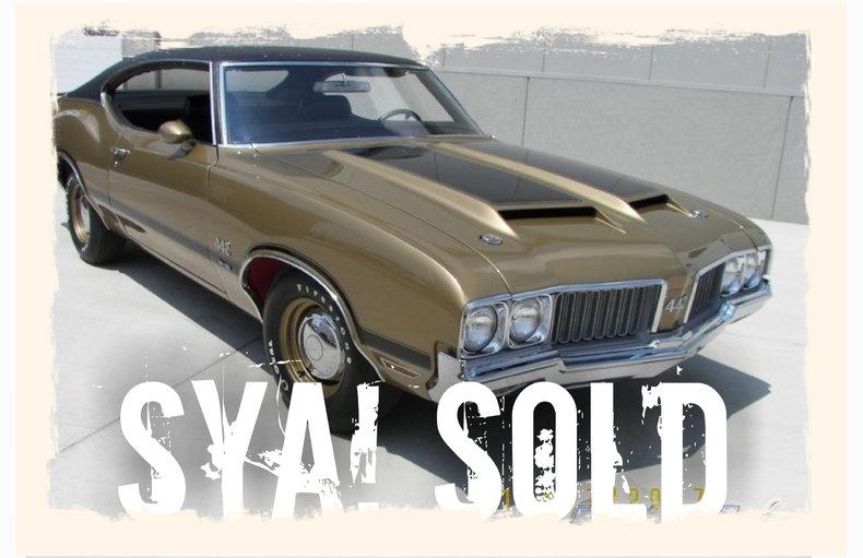 1970 1970 Oldsmobile 442 W-30 For Sale