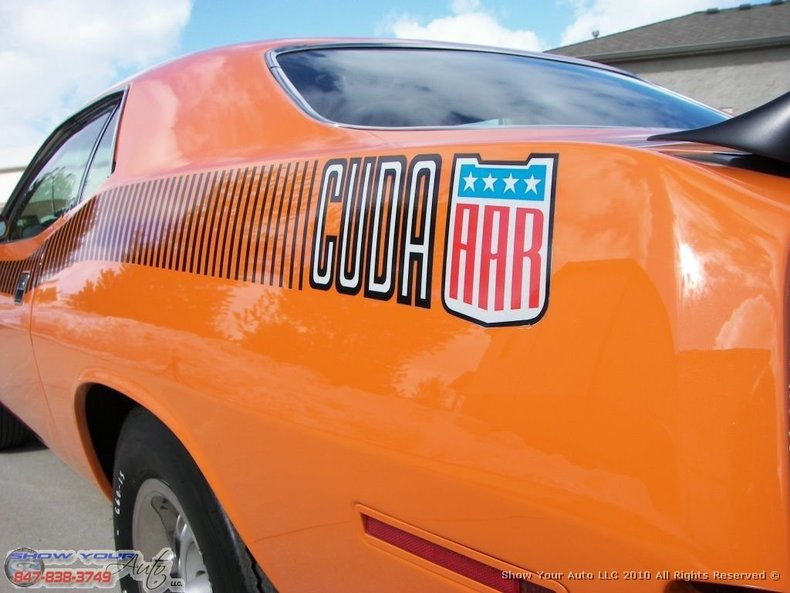 1970 1970 Plymouth AAR For Sale