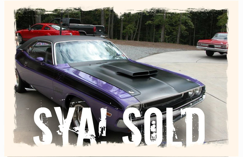 1970 Plymouth Challenger T/A
