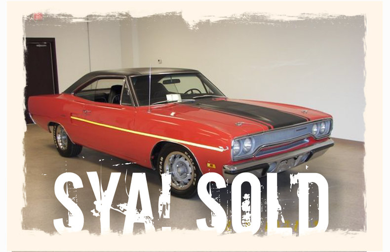 1970 1970 Plymouth Road Runner For Sale