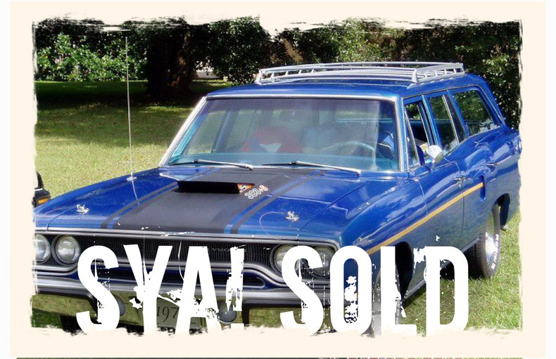 1970 Plymouth Road Runner Station Wagon