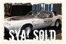 1980 Pontiac Trans Am Indianapolis Edition
