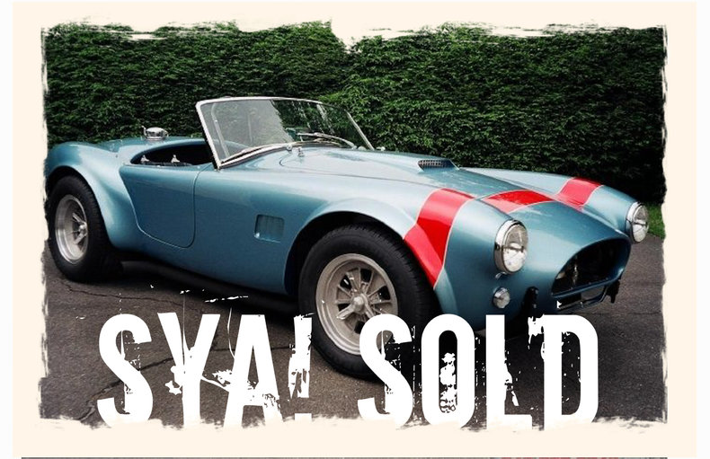 1964 ERA A/C Shelby FIA Cobra