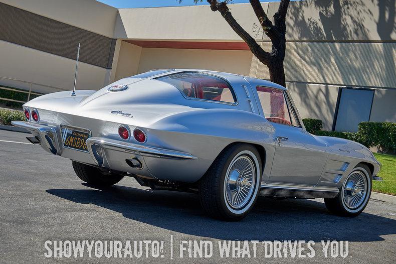 1963 Chevrolet Corvette Sya Show Your Auto