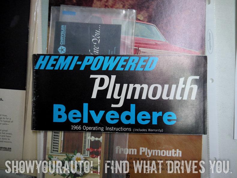 1966 1966 Belvedere II HEMI For Sale