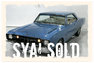 1968 Dodge M-Code GSS Dart