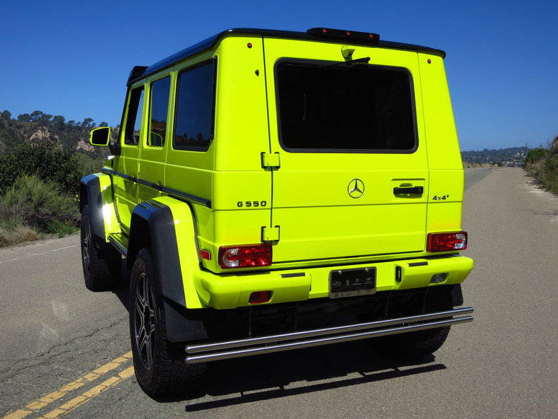 2017 mercedes benz g550 4x4 squared my classic garage for Mercedes benz g550 4x4 squared