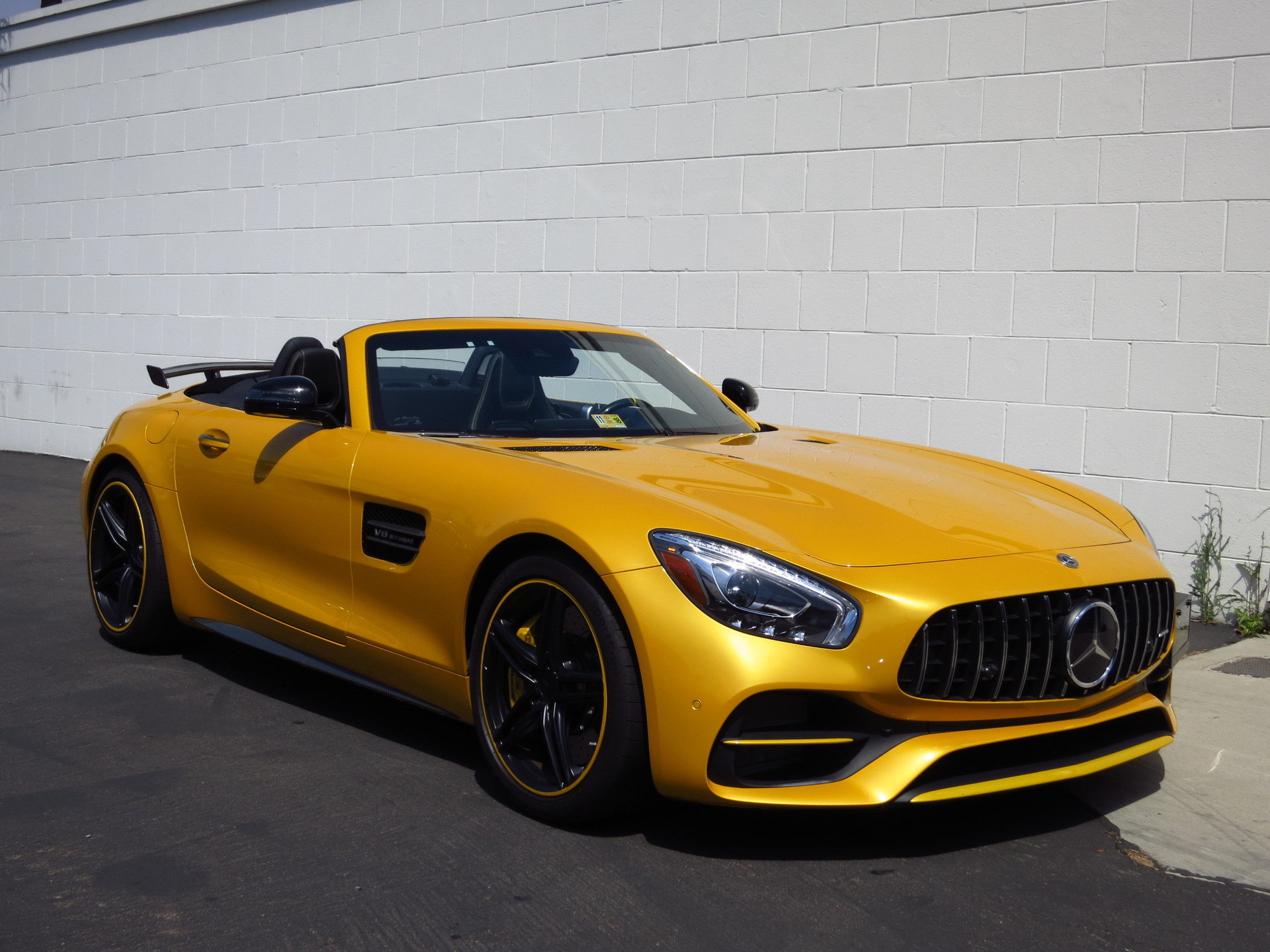 2018 Mercedes-Benz AMG GT-C Roadster for sale #91758 | MCG