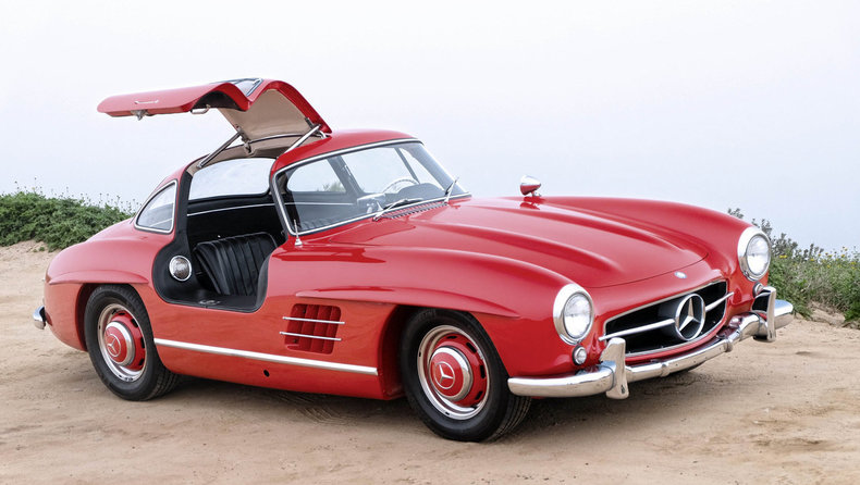1957 mercedes-benz 300sl gullwing |