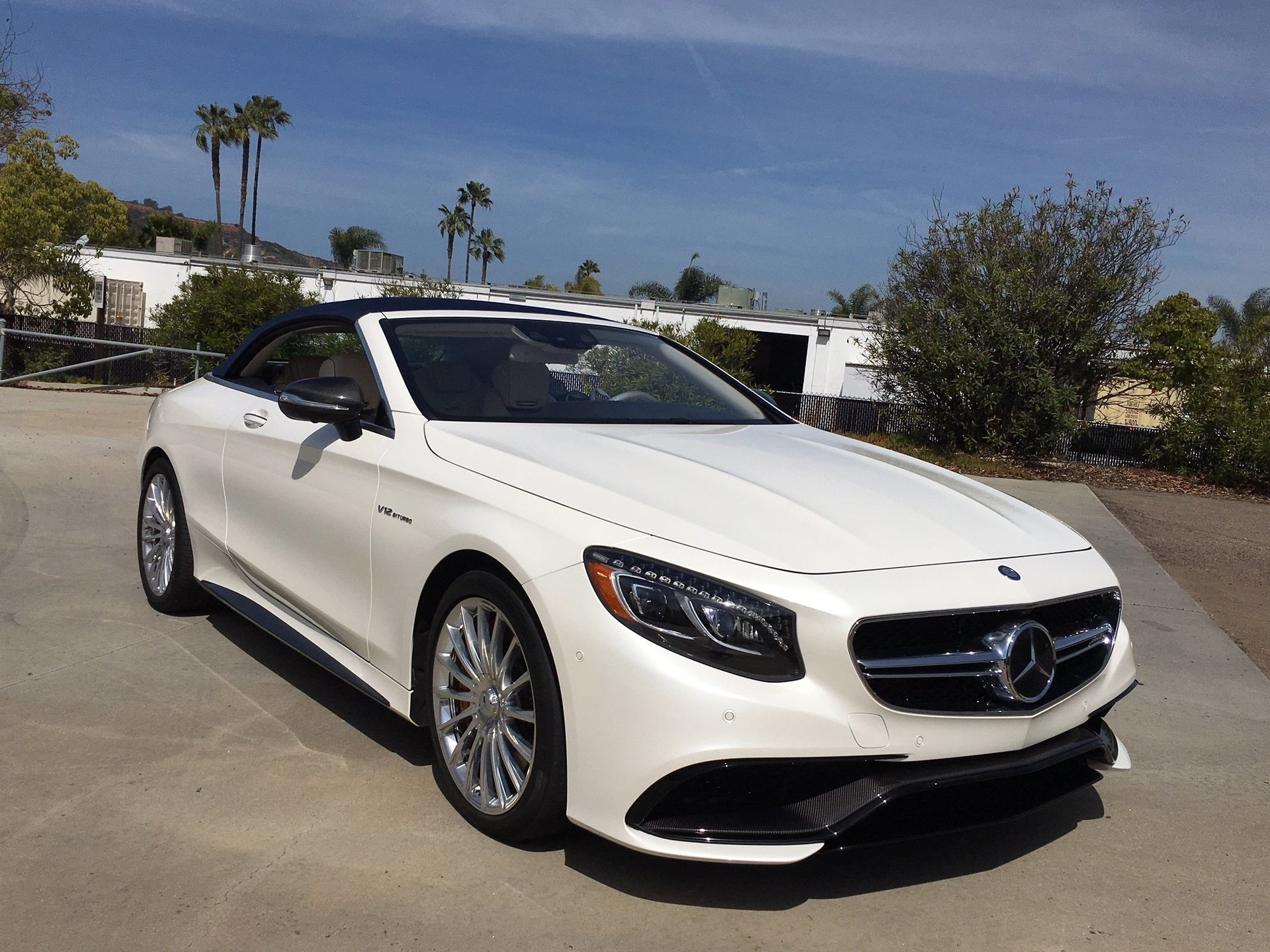 View Mercedes Benz S65 Amg Cabriolet Wallpaper  PNG