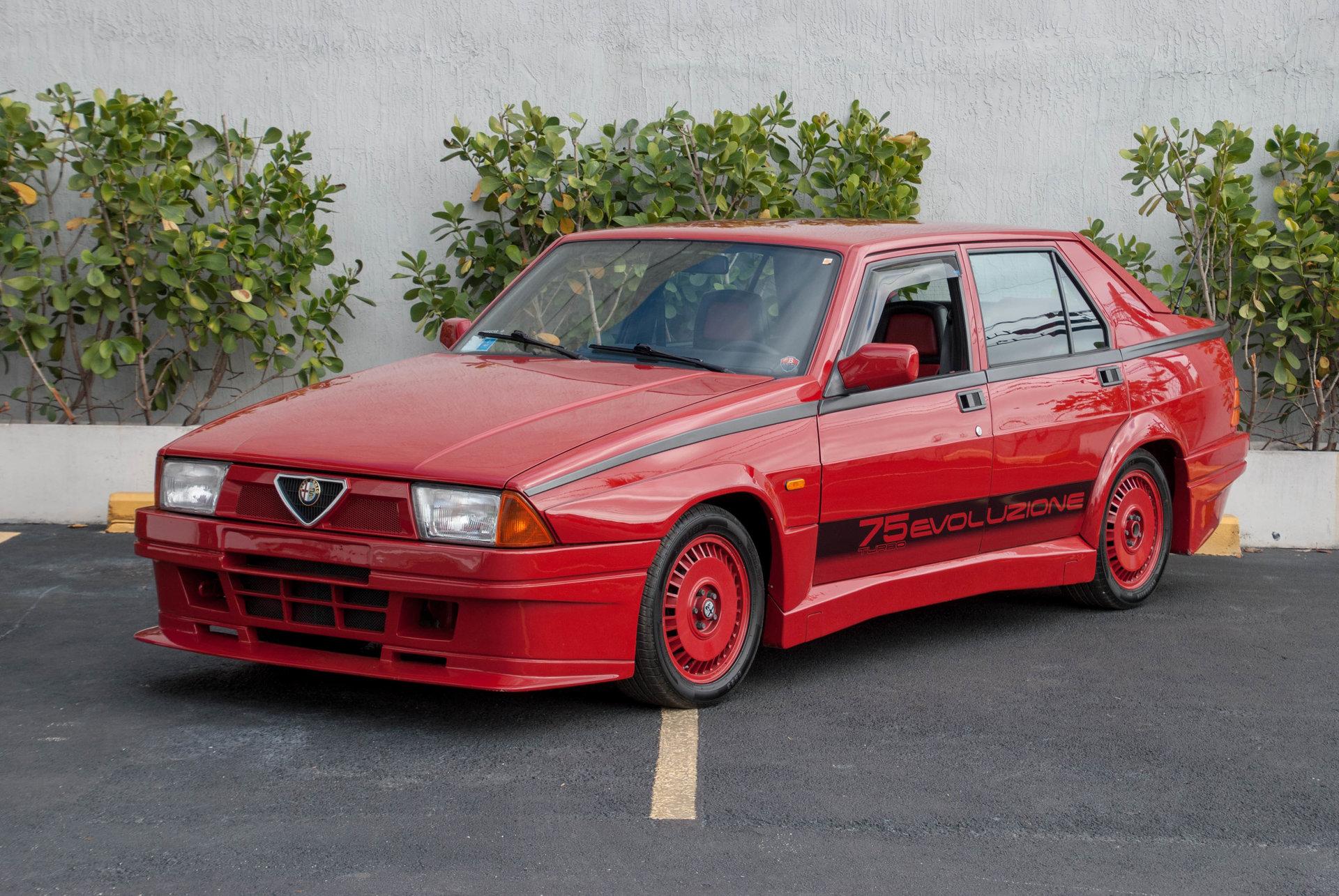 163949074b75a hd 1987 alfa romeo 75 turbo evoluzione