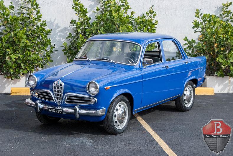 1961 alfa romeo giulietta | my classic garage