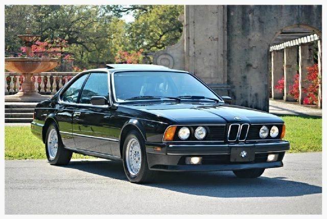 1989 BMW 6 Series