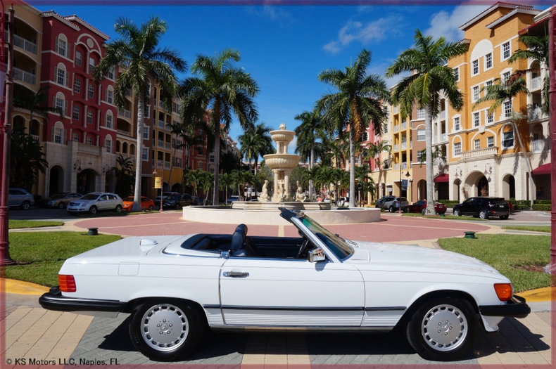 1986 Mercedes Benz 560 SL For Sale
