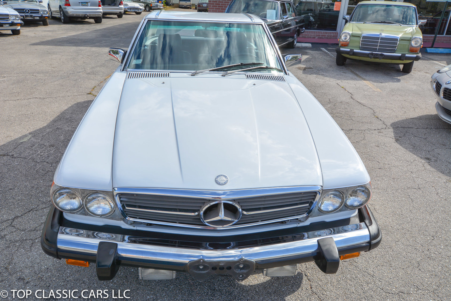 1987 mercedes benz 560 sl for sale 82449 mcg. Black Bedroom Furniture Sets. Home Design Ideas