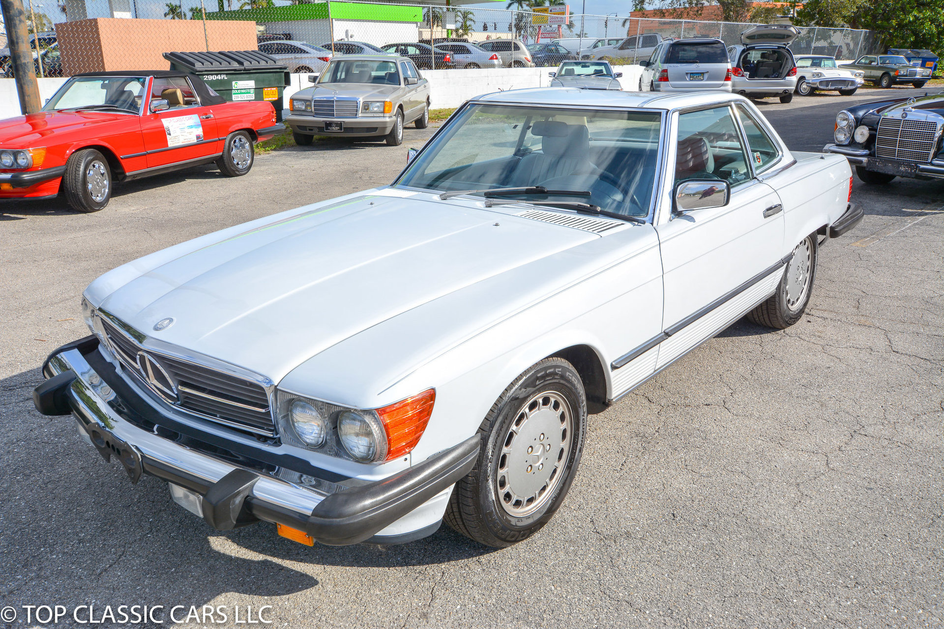 1988 mercedes benz 560 sl for sale 82557 mcg. Black Bedroom Furniture Sets. Home Design Ideas