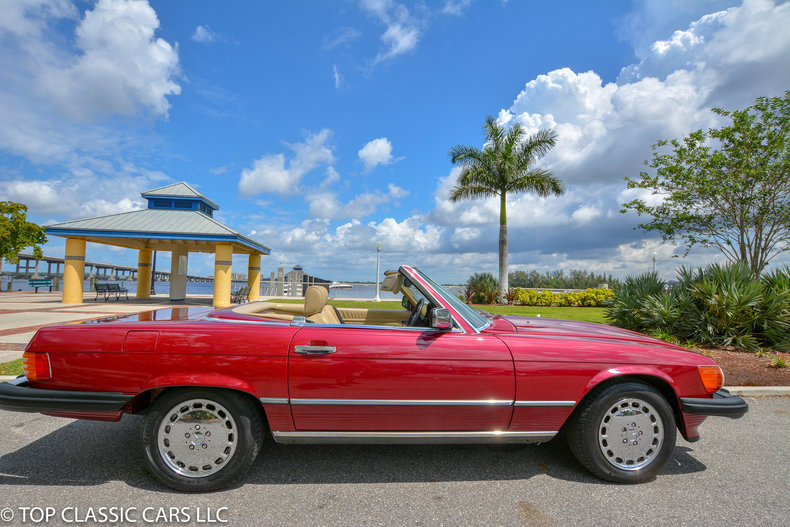1989 Mercedes Benz 560 SL For Sale