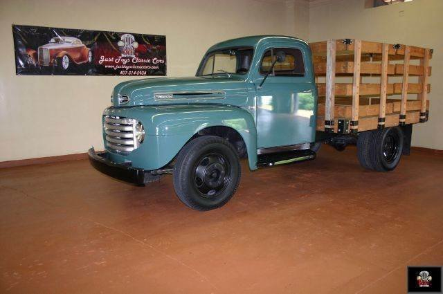 1949 Ford F4 Stake Bed Truck