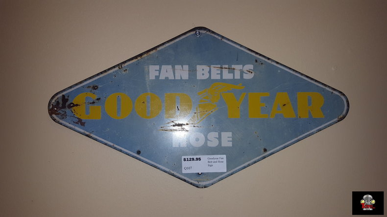 Goodyear Fan Belt & Hose Sign
