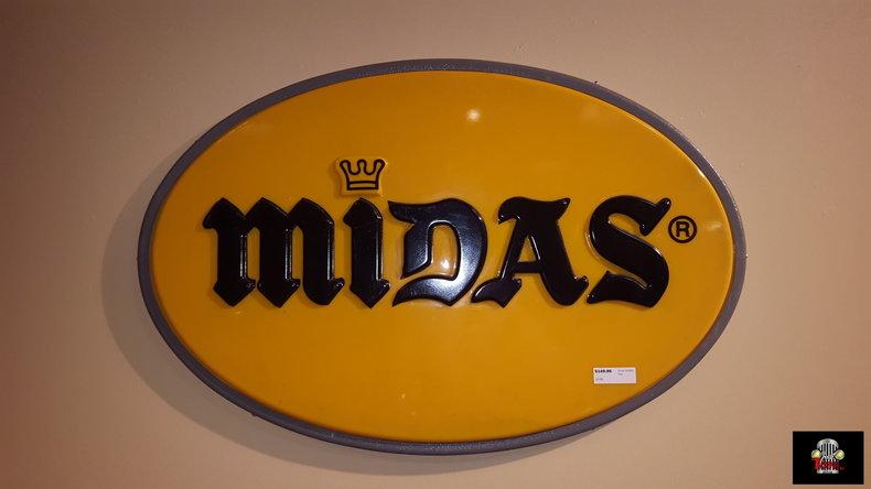 Midas Muffler Sign