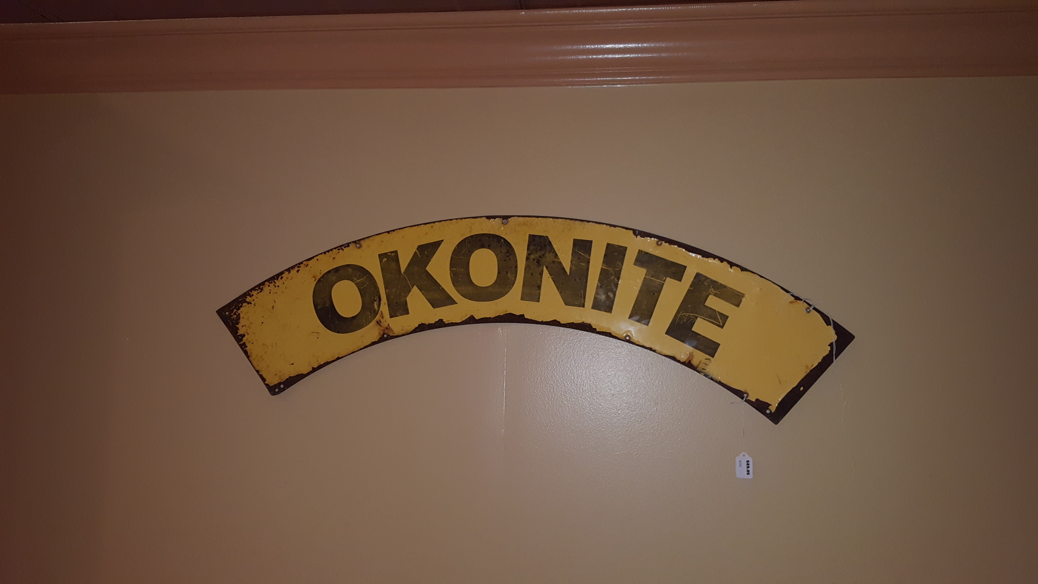 Okonite Wires Sign