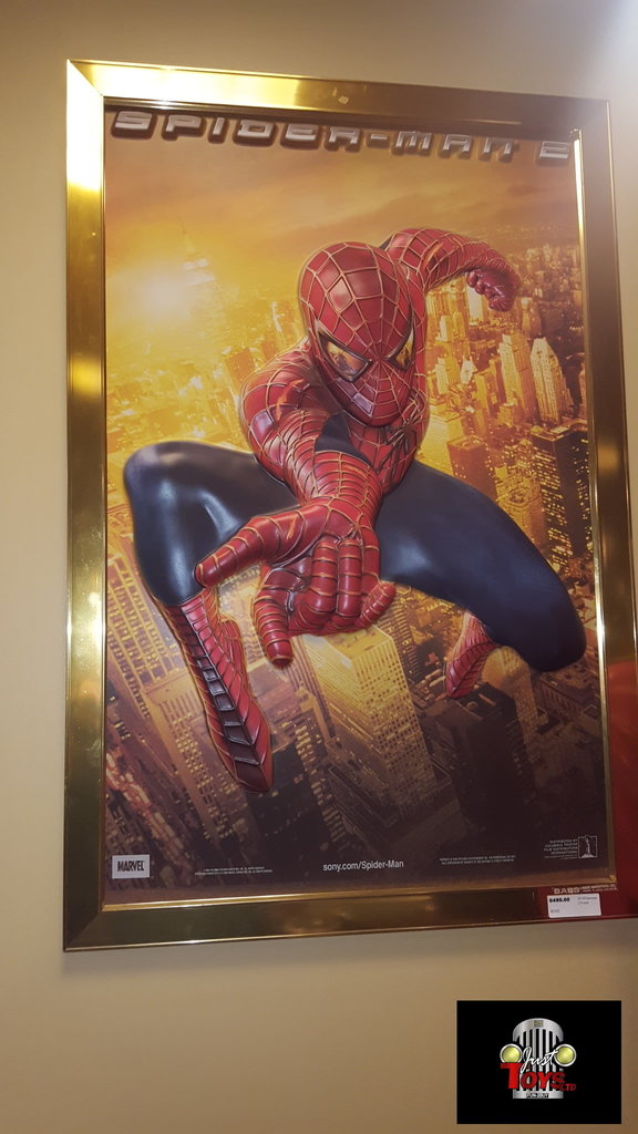 3D Spiderman 2 Poster