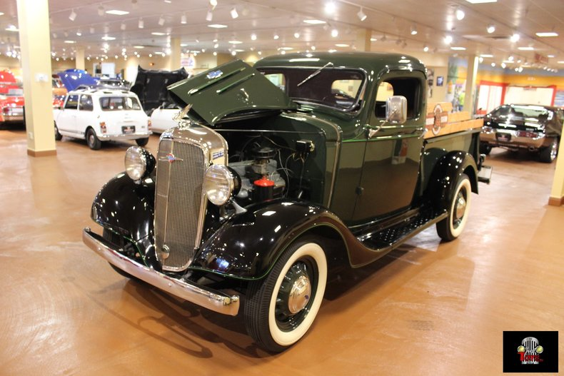 1936 Chevrolet 3-Window Pickup