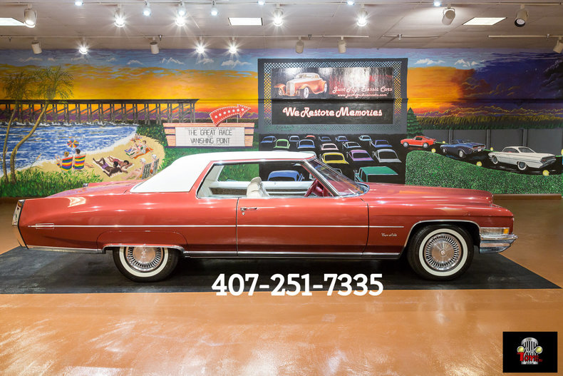 1971 Cadillac Coupe DeVille For Sale | All Collector Cars