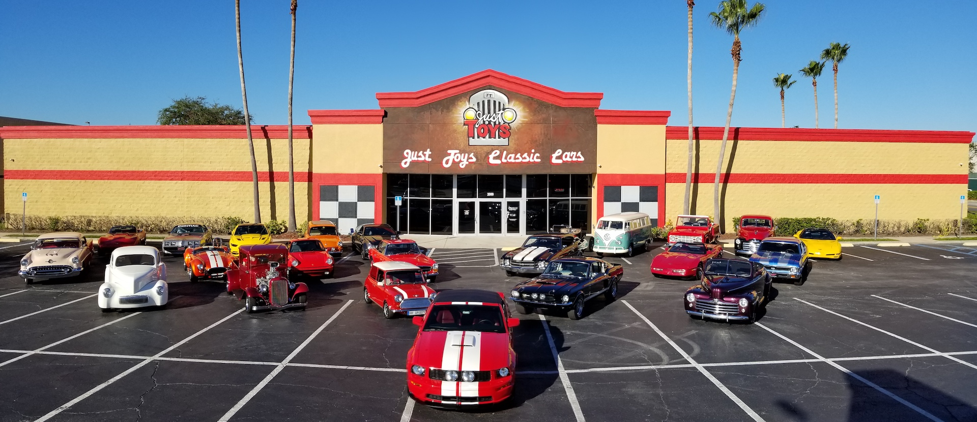 Classic Car Consignment in Orlando | Just Toys Classic Cars