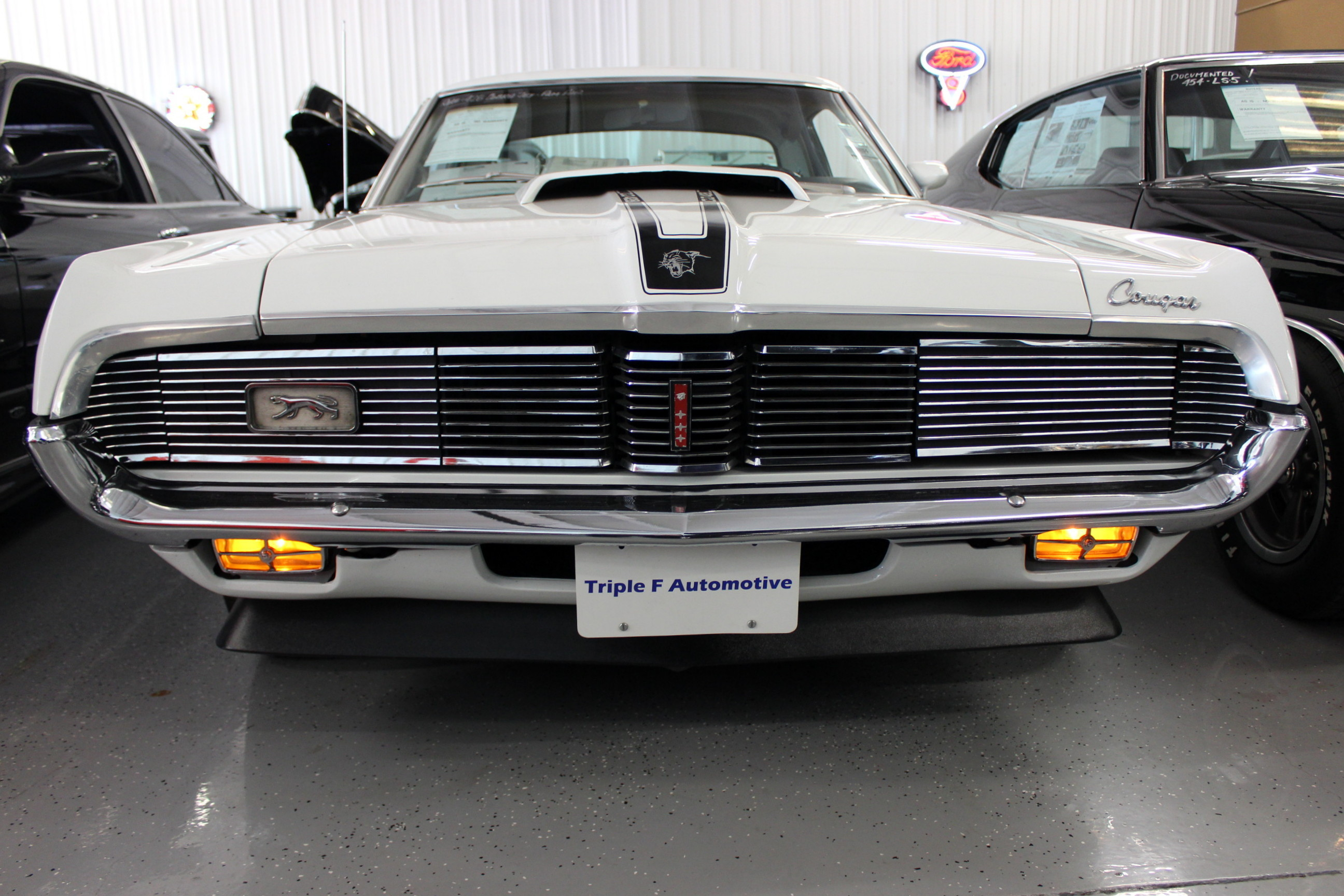 1969 mercury cougar triple f automotive for 1969 mercury cougar interior parts