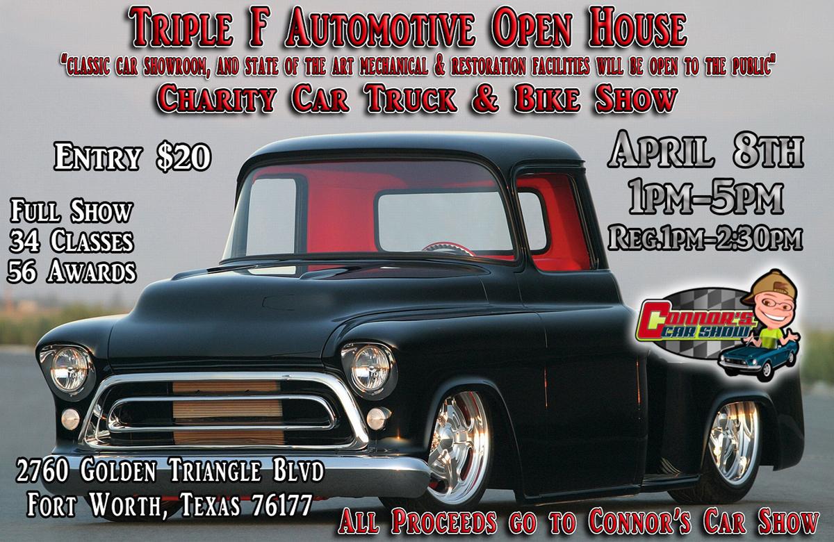 Spring Open House Car, Truck & Bike Show | Triple F Automotive
