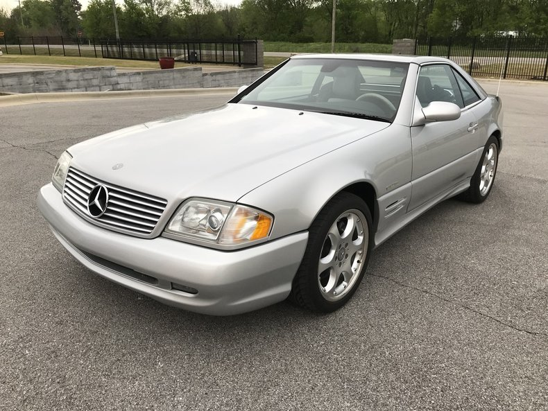 2002 Mercedes-Benz SL500R