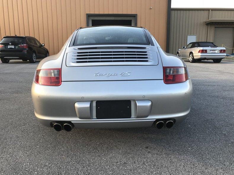 2008 Porsche 911 C4S Targa